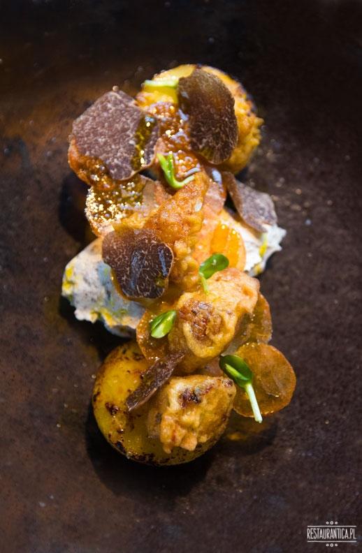 Kieliszki na Hożej ziemniak
