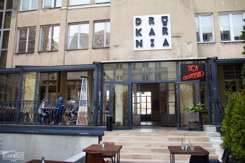 Drukarnia, Mińska 65, restauracja, z zewnątrz