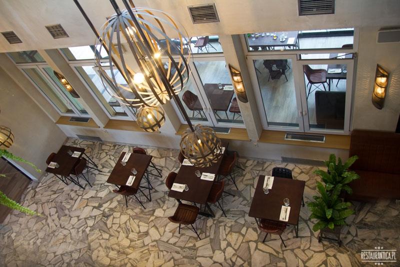 Drukarnia, restauracja, Mińska 65, wnętrze, z góry