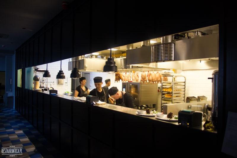 Pańska 85, otwarta kuchnia, restauracja