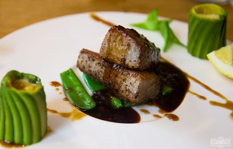 Pańska 85, stek z grillowanego tuńczyka