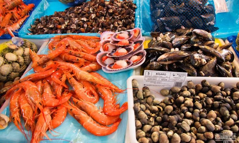 Galicja Galicia owoce morza, seafood