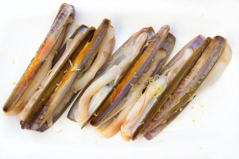 Galicia Galicja, małże brzytwy,