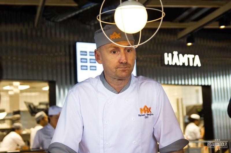 Max premium Burgers Richard Bergfors