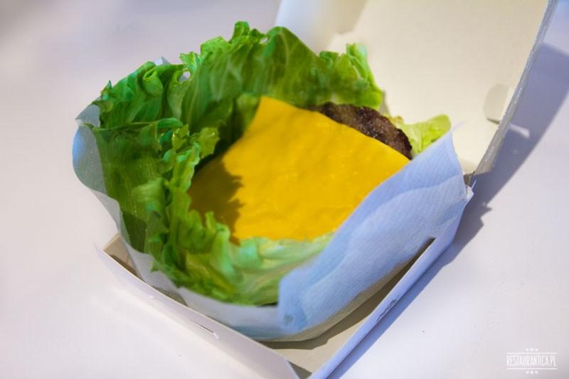 Max Premium burgers, burger z sałatą
