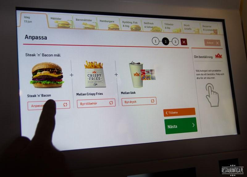 Max Premium Burgers e-kioski