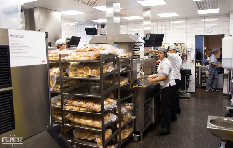 Max Premium Burgers produkcja Sztokholm