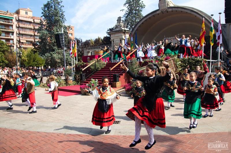 san Mateo Logrono tańce dzieci