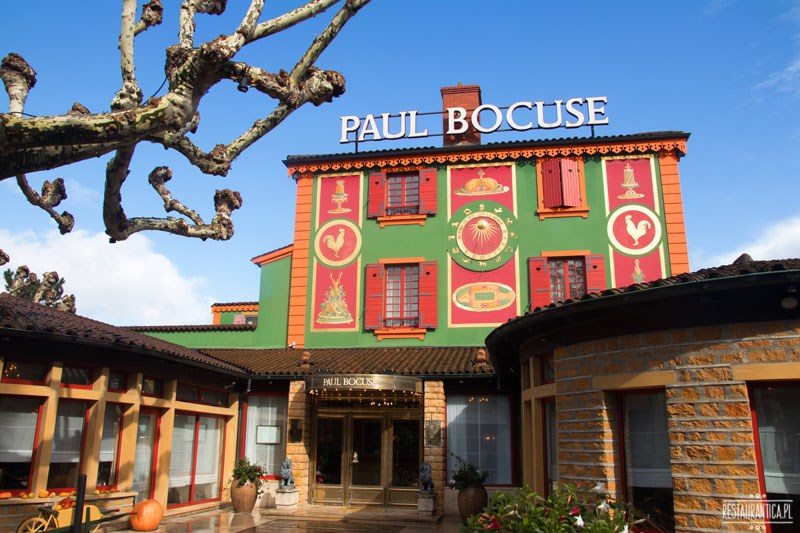 Paul Bocuse z zewnątrz
