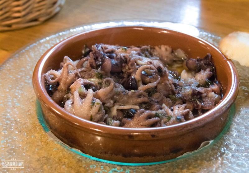 La Iberica ośmiorniczki