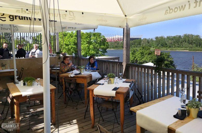 Grunt i Woda – restauracja na dachu nad Wisłą