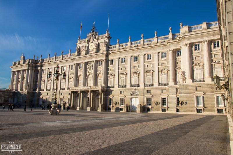 Pałac Królewski Madryt