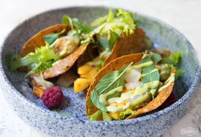 Tacos z przegrzebkami