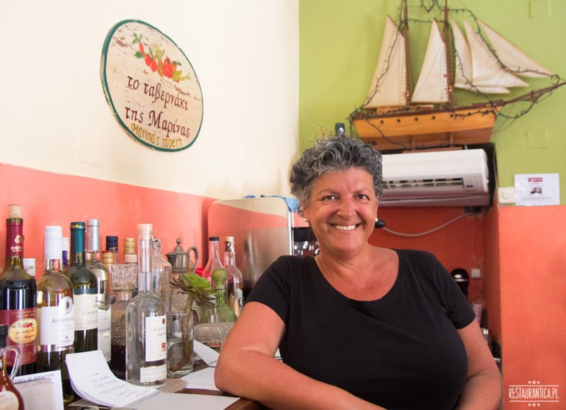 Marina's Tavern Korfu właścicielka