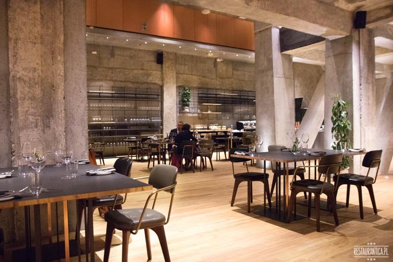 Warszawska restauracja wnętrze