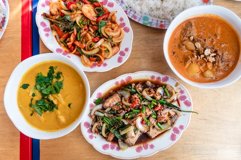 Bangkok Soi różne dania