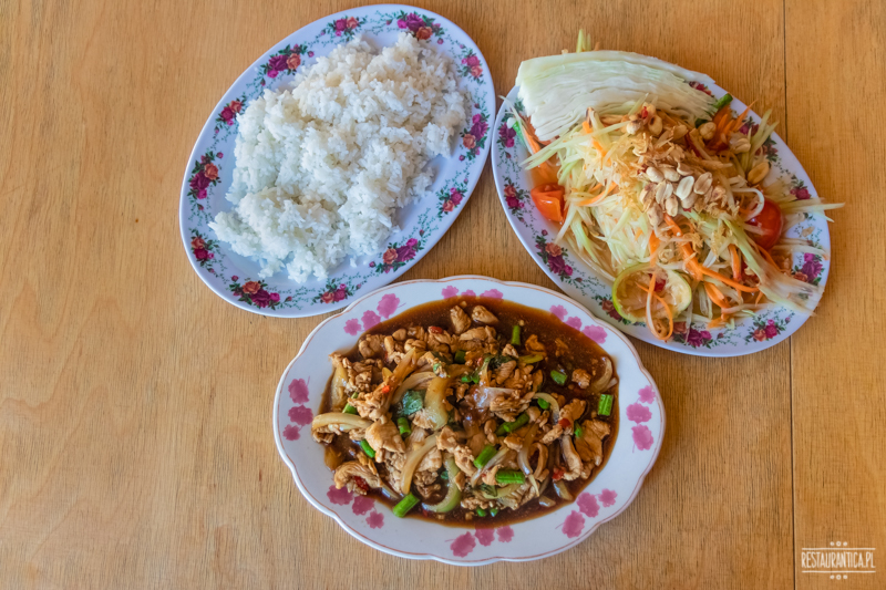 Bangkok Soi kurczak