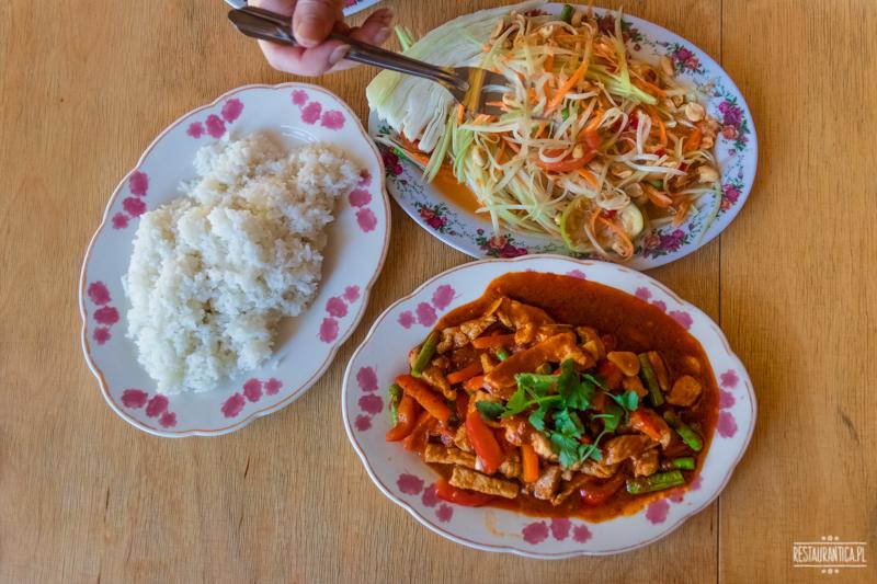 Bangkok Soi wieprzowina chilli