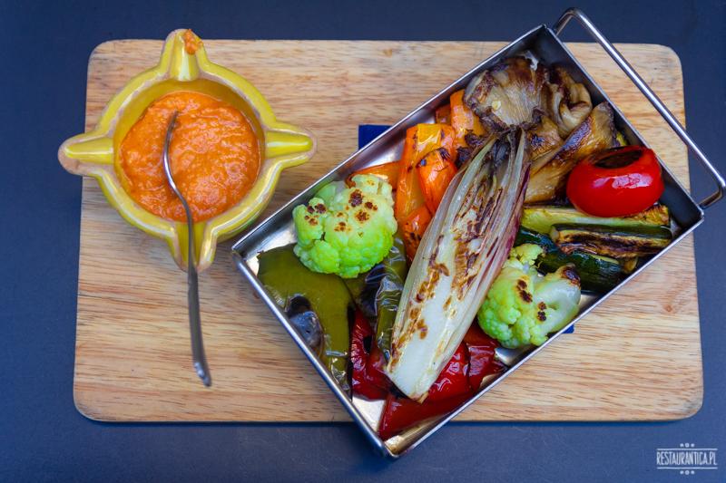 Barcelona Mercadet warzywa