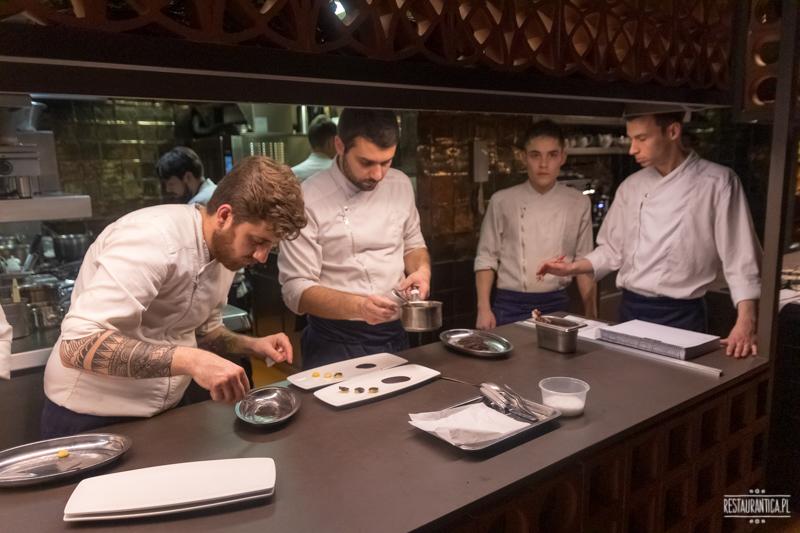 Barcelona Disfrutar kuchnia