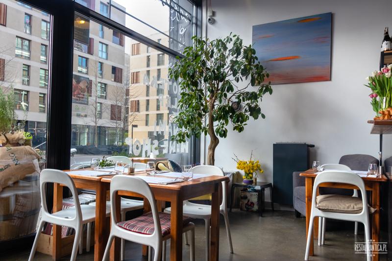 Cafe Art of Home wnętrze