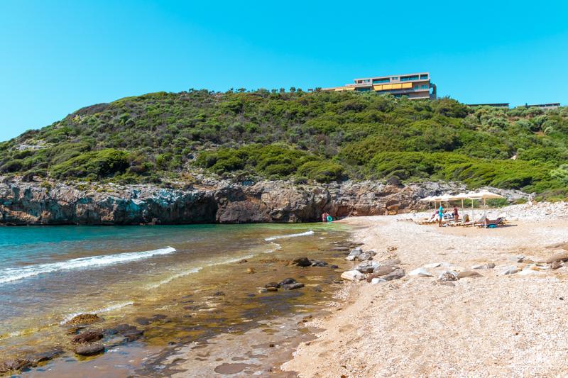 Thassos hotel z plaży