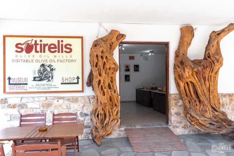 Sotirelis muzeum oliwy Thassos